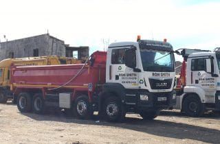 Ron Smith Recycling New MAN trucks 17-v2